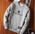 2016 auntum style men Hoodies & Sweatshirts fashion brand O-Neck print slim casual Sweatshirts for Young man grey black blue 4XL