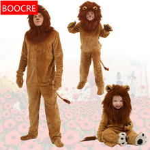 b35b971bb Halloween Kids Adlut Unisex The Wizard of OZ Performance Fancy Dress Long  Haired Lions The Lion