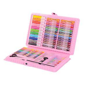 Image 2 - 109 adet Sanat Seti suluboya fırçası Kalem Sanatçı Aracı Kiti resim kalemi boyama seti Çocuklar Için Hediye Kutusu Çizim Oyuncaklar Sanat Malzemeleri