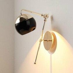 Osobowość twórcza prosty salon sypialnia lampki nocne Nordic nawy w górę iw dół regulacja ściana światło wf4271529