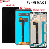 Touch Screen For Xiaomi Mi Max 3 LCD Display with Frame New Digitizer Glass Panel Replacement For Xiaomi Mi Max 3 Display 6.9