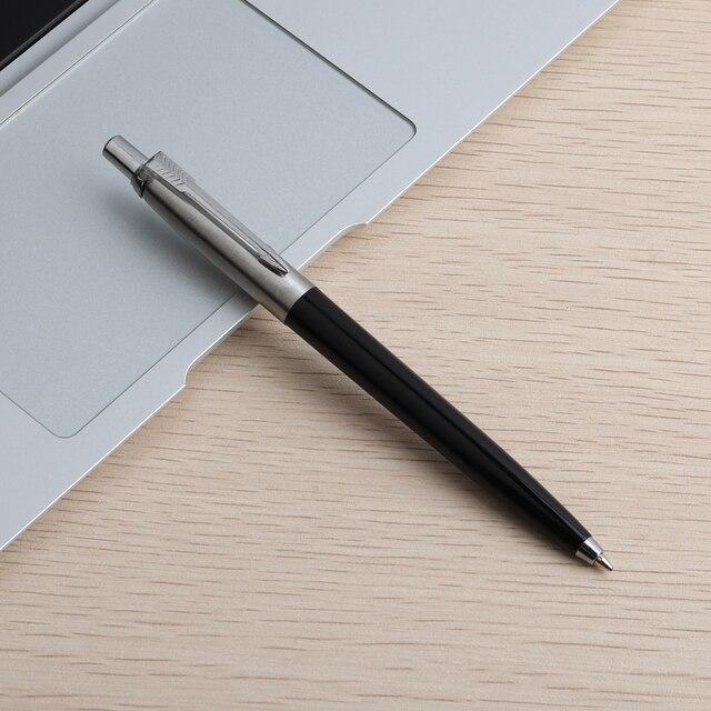 5PCS Baikingift Metal Ballpoint Pen Press Style Commercial Gift Pens For School Office Core  Automatic Ball pen Unisex Pen 0.7mm 5