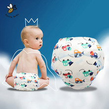 Breathable Children Cloth Diaper Cute Cartoon Baby Reusable Nappies Soft Baby Training Pants Washable Cloth Diapers