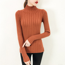 Turtleneck Knitted Sweater 3 Colors