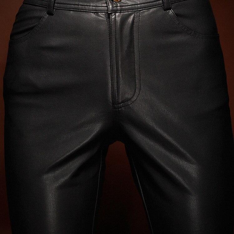 Cintura Calidad La Fashion Show So3325 Orange Alta Legging Cuero Pu Mujeres Lápiz Largo De Cremallera Ver Pantalones 0zw755q