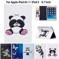 For IPad Air 1 Fashion Panda Owl Pattern Case For Apple IPad Air 1 IPad 5