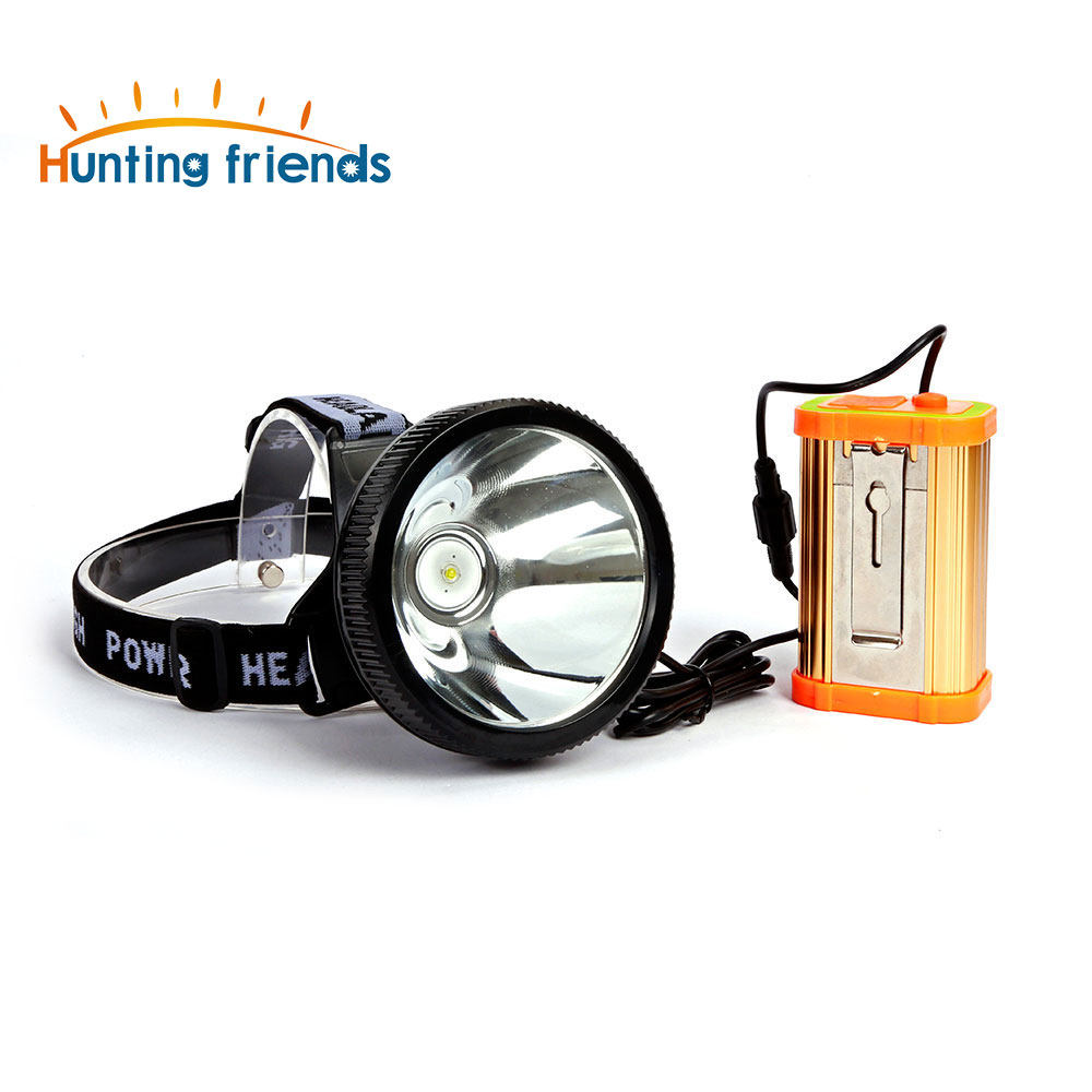 12pcs/lot Hunting Friends SuperBright Headlight LED Camping Lantern Rechargeable Headlamp 18650 USB Flashlight Torch for Outdoor