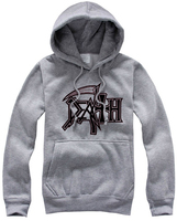 Death Metal Hoodies Fleece Rock Band Mens Hooded Sweatshirts 2016 New Fashion Plus Size Free Shipping