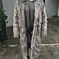 Women Winter Faux Fur Coat Long Sleeve Faux Fox Fur Outerwear Warm Fur Winter Fluffy Coat Women Long Style Ladies Overcoats