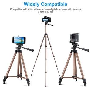 Image 2 - Trípode portátil Universal para cámara ligera, trípode profesional para teléfono móvil, para Canon, Sony, Nikon, SmartPhone
