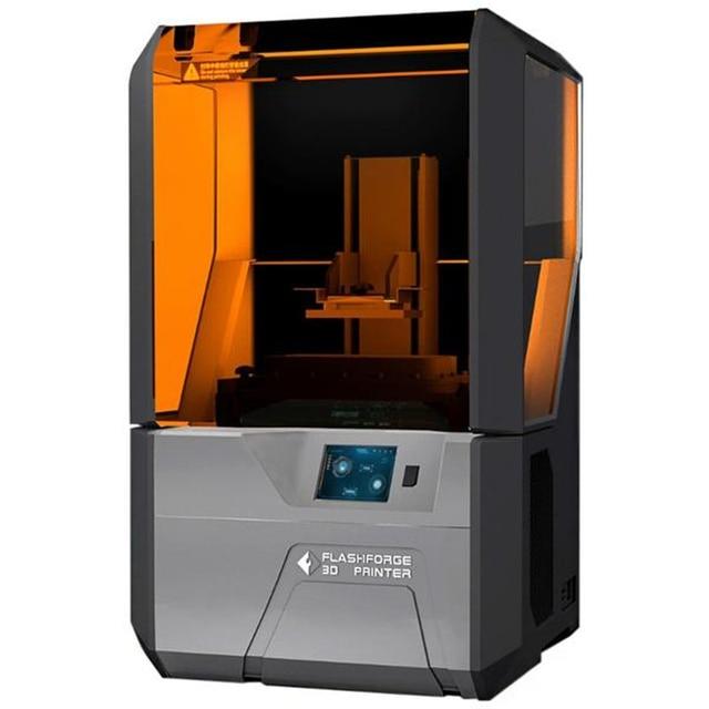 Flashforge Hunter DLP resin 3d printer with 1L grey standard resin