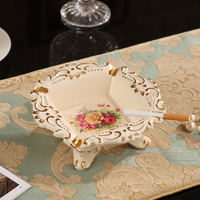 Special European Ceramic ashtray luxury modern living room table decoration decoration Home Furnishing personality