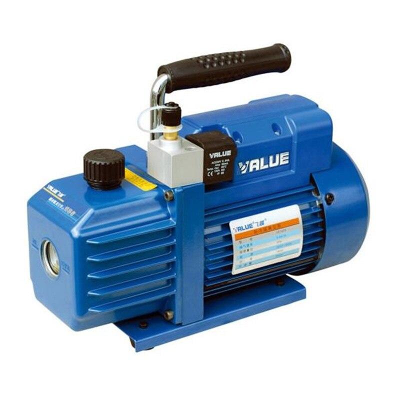 180 W 220 V VE125S haute qualité mini pompe à vide pompe d'aspiration pour réparation climatisation réfrigérant 5.4m3/h pour R410A R407C