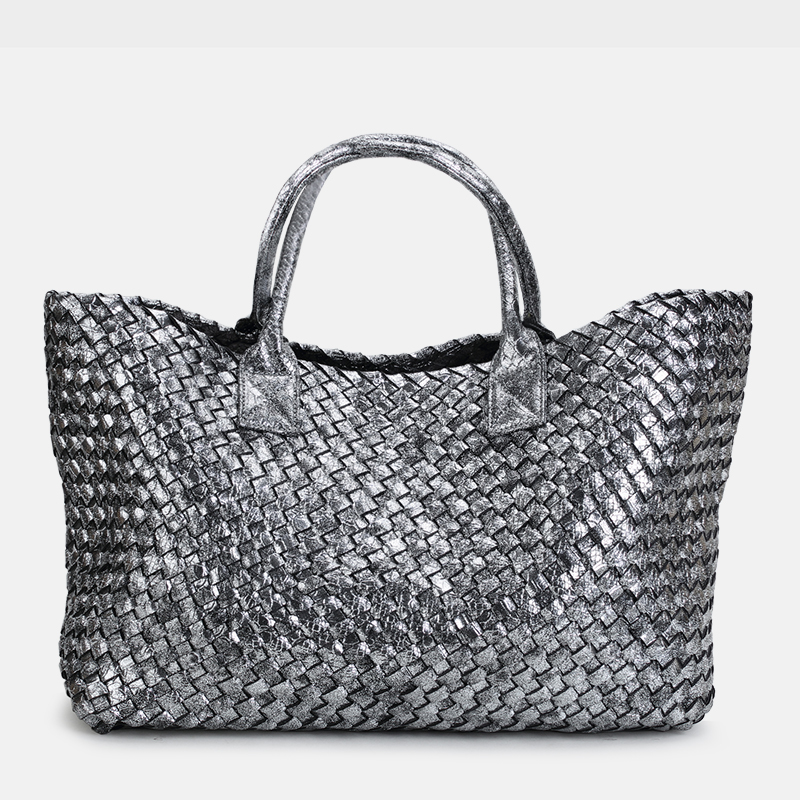 hand-woven women's bag spring summer new European and American tide single shoulder vegetable basket women casual bag