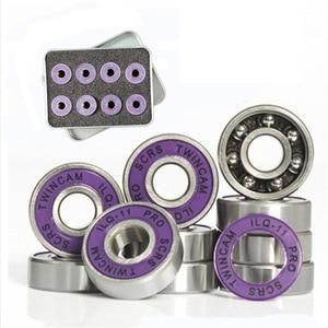 Image 5 - Limited Quantity 30 Lot 85A 80/76/72MM Inline Skate Wheels ILQ 11 Bearing Set Slalom Roller For SEBA Patines Tires