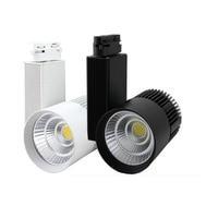 10X New Design 30W 30degree COB LED Track Light With Bridgelux Chip AC 85 265V Input