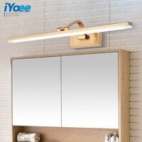 Bathroom Gold Waterproof LED Wall lamps Cabinet vanity Mirror lights toilet vanity wall sconces CE makeup lighting fixtures