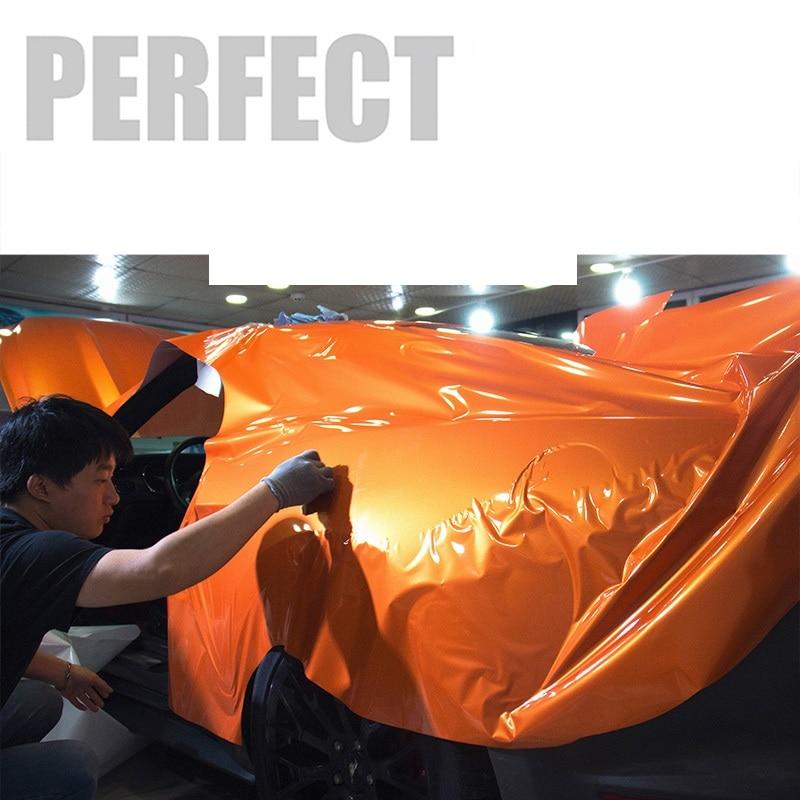 2 pcs 50*150 cm Belle Carrosserie Film Brillant Vinyle Wrap Papier Style Autocollants pour Auto Moto De Vélo ordinateur portable Tablet etc