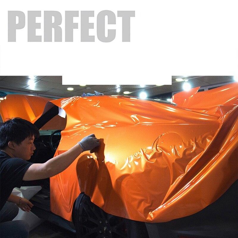 2 pièces 50*150 cm belle voiture corps Film brillant vinyle Wrap papier style autocollants pour Auto vélo moto ordinateur portable tablette etc