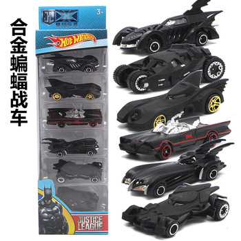Batman Chariot Alloy Set Model 6 Generation Chariot Combination Children's Car Toy Set