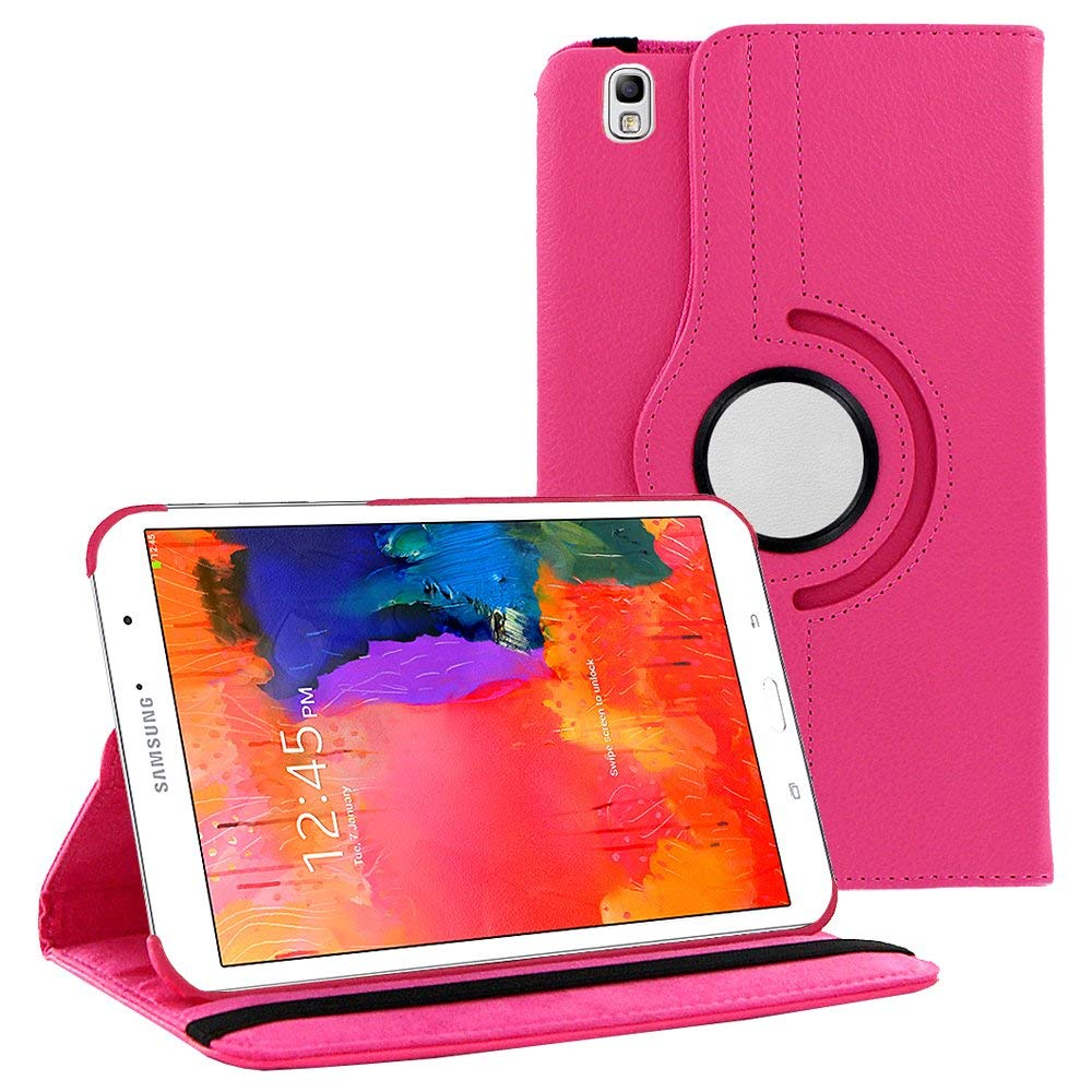 Case Cover For Galaxy Tab Pro 8.4 T320 Case Stand 360 Rotating PU Leather Cover For Samsung Galaxy Tab Pro 8.4 SM-T320 T321 image