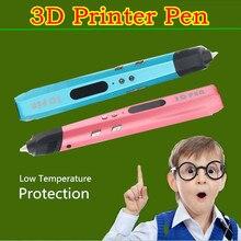 Подарок на день рождения Последней Подлинной 3D Перо Печати Добавить 1.75 мм PCL USB POWER BANK Или Адаптер 3D Ручка Живопись Ручка + Нити Бесплатно доставка
