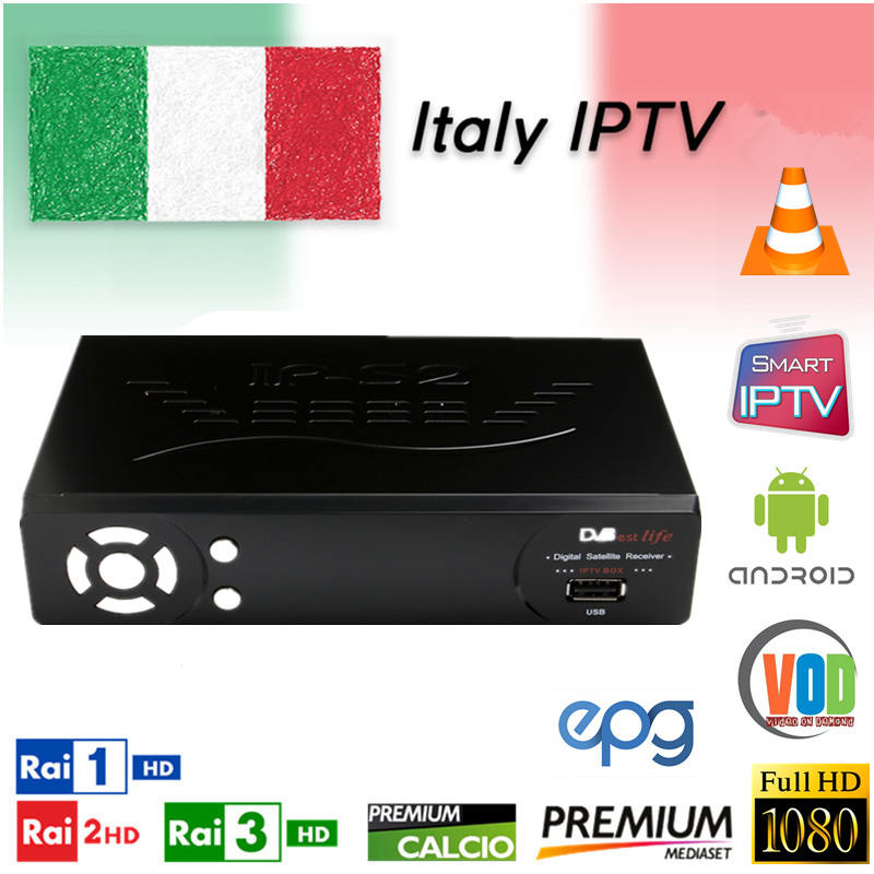 Enthousiast Italië Iptv 4500 Live Kanalen 20,000 Vod Italiaanse Albanië Duitsland Zwitserse Ex-yu Europa Iptv Volwassen Ondersteuning Android M3u Enigma2