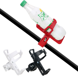 Image 2 - Motorcycle Bike Drink Holder Bicycle Cup Holder Water Bottle Coffee Clip Mount Stand Car styling Outdoor Sports