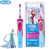 Oral B Rechargeable Toothbrush For Children Oral Hygiene Waterproof Children Electric Toothbrush For Kids Ages 3