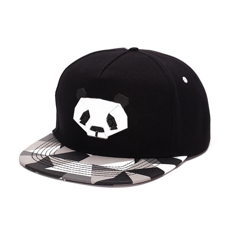 Lovers Baseball Cap Hip-hop Dad Bones Drake Hat Male Ms. Cute Panda Hiphop snap back Zebra Rubber Hat Snapback Flat-brimmed Hat гусева е леонов в философия и история науки учебник