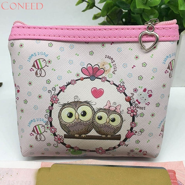 2017 New Fashion Women Makeup Bag Owl PatternPortable Make up Cosmetic Bag  Toiletry Travel Wash Pouch Organizer Bag Juy11x 7344a9c3eb9da