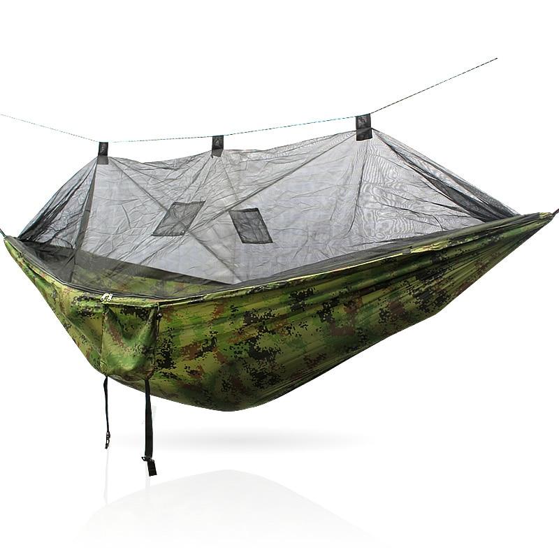Furniture Nylon Hamack Hommock Outdoor Patio Swing Garden Mosquito Net Outdoor Chairs Wood Outdoor Furniture