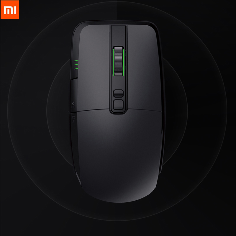 Original Xiaomi 7200DPI Game Mouse Portable Wire/Wireless 2.4GHz Dual Mode 6 Button RGB LED Office Mouse Support Mac OS Windows ...