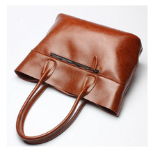 The new 2016 leather handbag handbag single shoulder bag