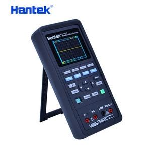Image 3 - Hantek osciloscópio automotivo + multímetro gerador de forma de onda 3 em 1 osciloscópio handheld usb 2 canais 40mhz 70mhz ferramentas