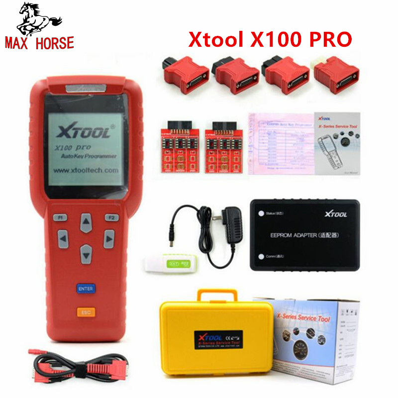 Hot Sale Xtool X100 PRO Auto Key Programmer X100+ Updated Version with EEPROM Adapter