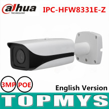 Dahua motorized focal lens 2.7mm to 12mm IP camera IPC-HFW8331E-Z Full HD 3MP POE CCTV camera IR 50M Smart Network ip camera