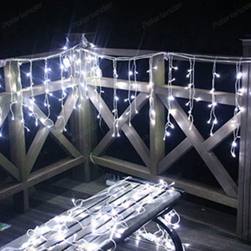 โรแมนติก33เมตร300 ledsดาวของวันคริสต์มาสไฟIPLความสว่างชีวิตยาวม่านแสง