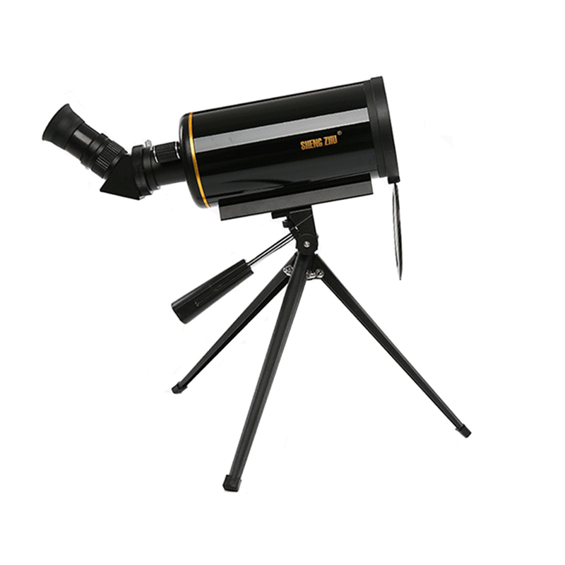 Powerful 90/1000 Maksutov-Cassegrain Astronomical Telescope Long Focus Monocular with 5x24 Finderscope Space Observation Tools
