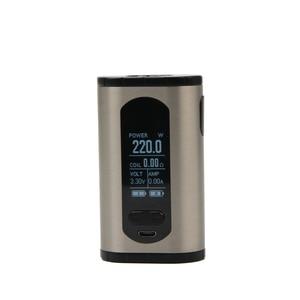 Image 5 - Original Eleaf Invoke Kit 220W E Cigarettes Invoke Box MOD Vape and ELLO T Atomizer Fits HW1 Coil Vaper Vaporizer