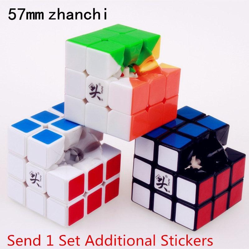 57mm 3x3x3 dayan 5 zhanchi magisk hastighet kub pussel ultralätt - Spel och pussel - Foto 5