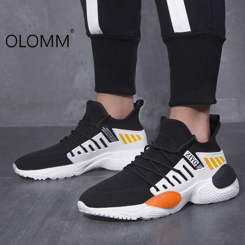 Chaussures pour hommes chaussures d'été en maille respirante chaussures de sport en maille sauvage Tenis Masculino Adulto chaussures décontracté