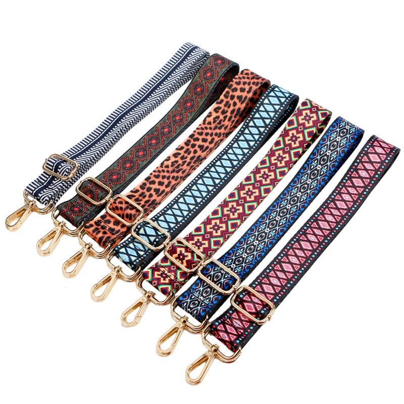140cm Women Shoulder Bag Strap Belt Nylon Obag Handle For Handbag DIY Bag Accessories Part Adjustable Decorative Handle Ornament
