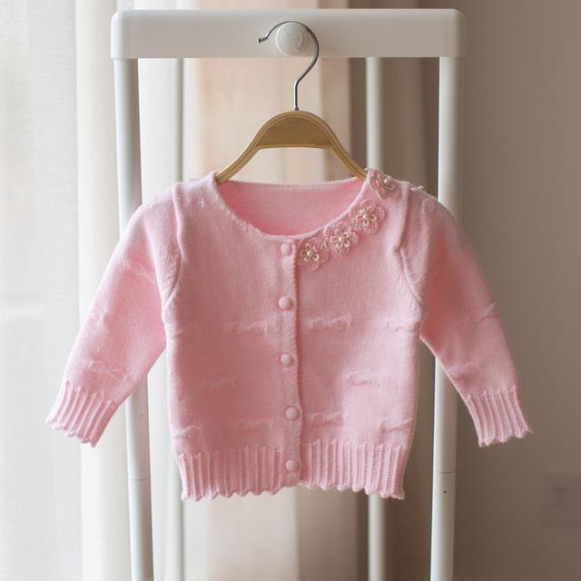 2017 de primavera y otoño ropa de los nuevos niños niño niños flor suéter de la rebeca de moda suéter de las muchachas