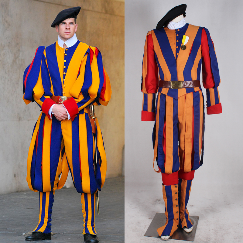 Swiss Guard Halloween Costume