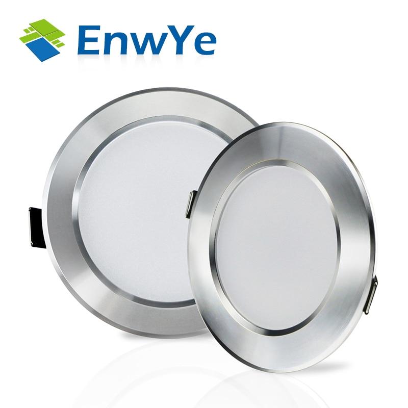 EnwYe 15W 20W 25W LED Ceiling Downlight Lamps 220V 230V 240V Led Down light Lamp