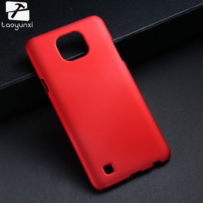 TAOYUNXI Matte Phone Cover Case for LG X Cam K580 K580Y X-cam K580 K580DS 5.2 inch Cases Cover Rubber Hard Plastic Skin Shell