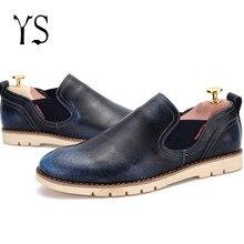 Bottes Chelsea Hommes Véritable En Cuir Boty Chaussures De Luxe Marque Classique Chukka Homme Faire Social 2016 Slipony Slipon Derbies YS X8