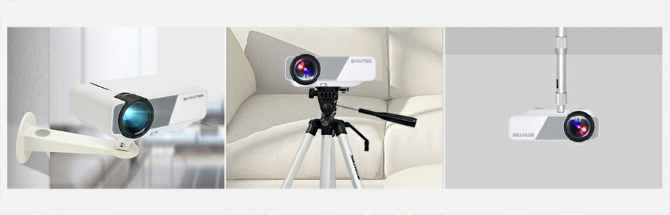 LED Portable Home Theater HD Mini Projector