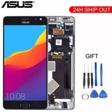 Oryginalny 5.7 1440x2560 dla ASUS ZS571KL wyświetlacz dla Zenfone AR ekran wyświetlacz LCD zgromadzenia z części wymienne do ramy